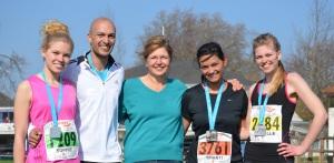 Family half marathon